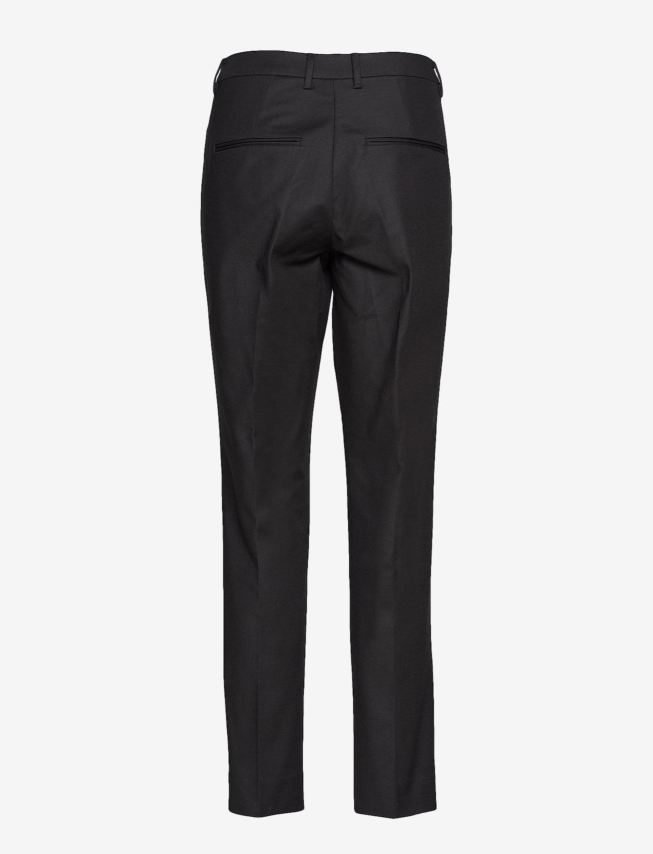 Noa Noa - Trousers - broeken med straight ben - black - 1