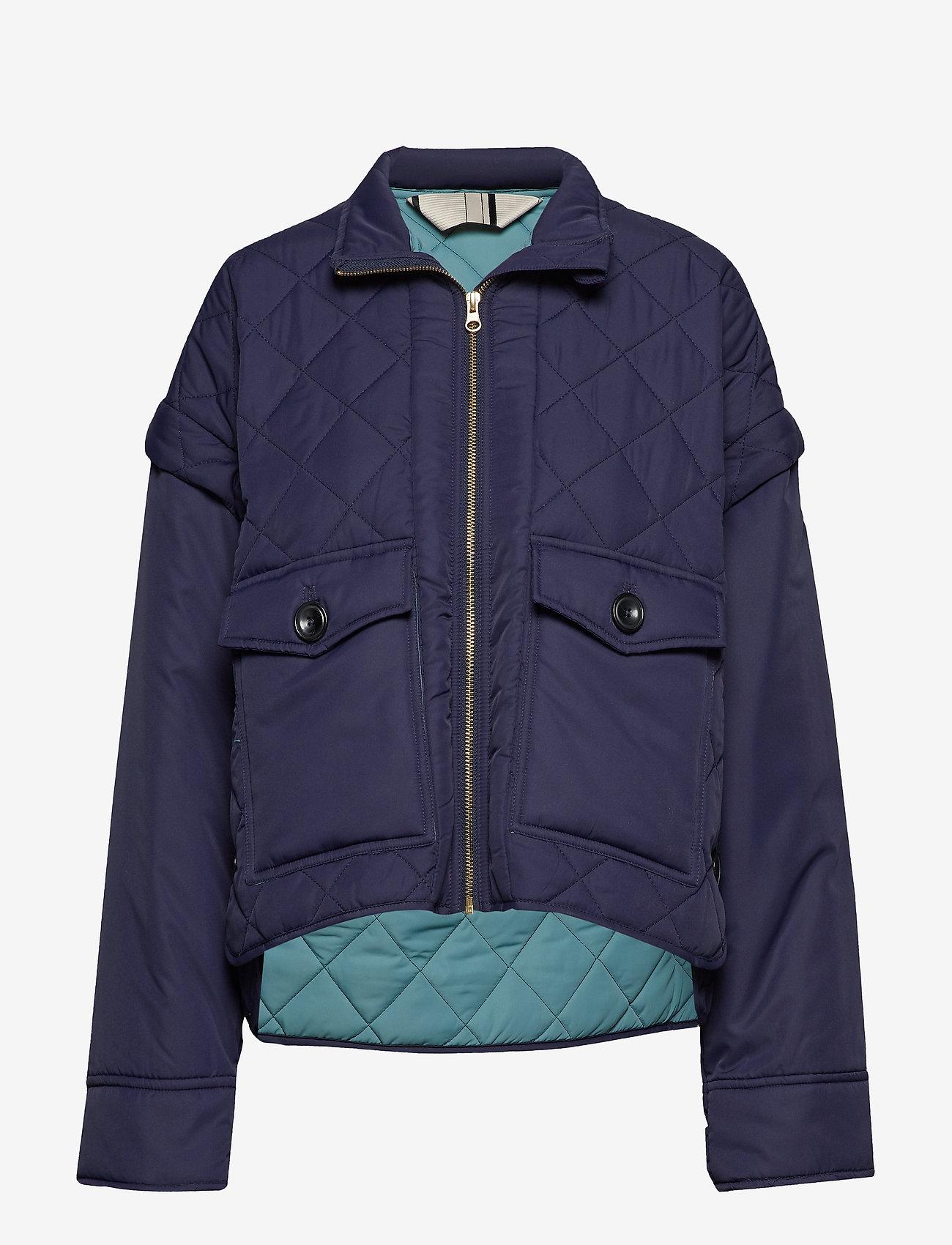 Noa Noa - Light outerwear - utility jackets - peacoat - 0
