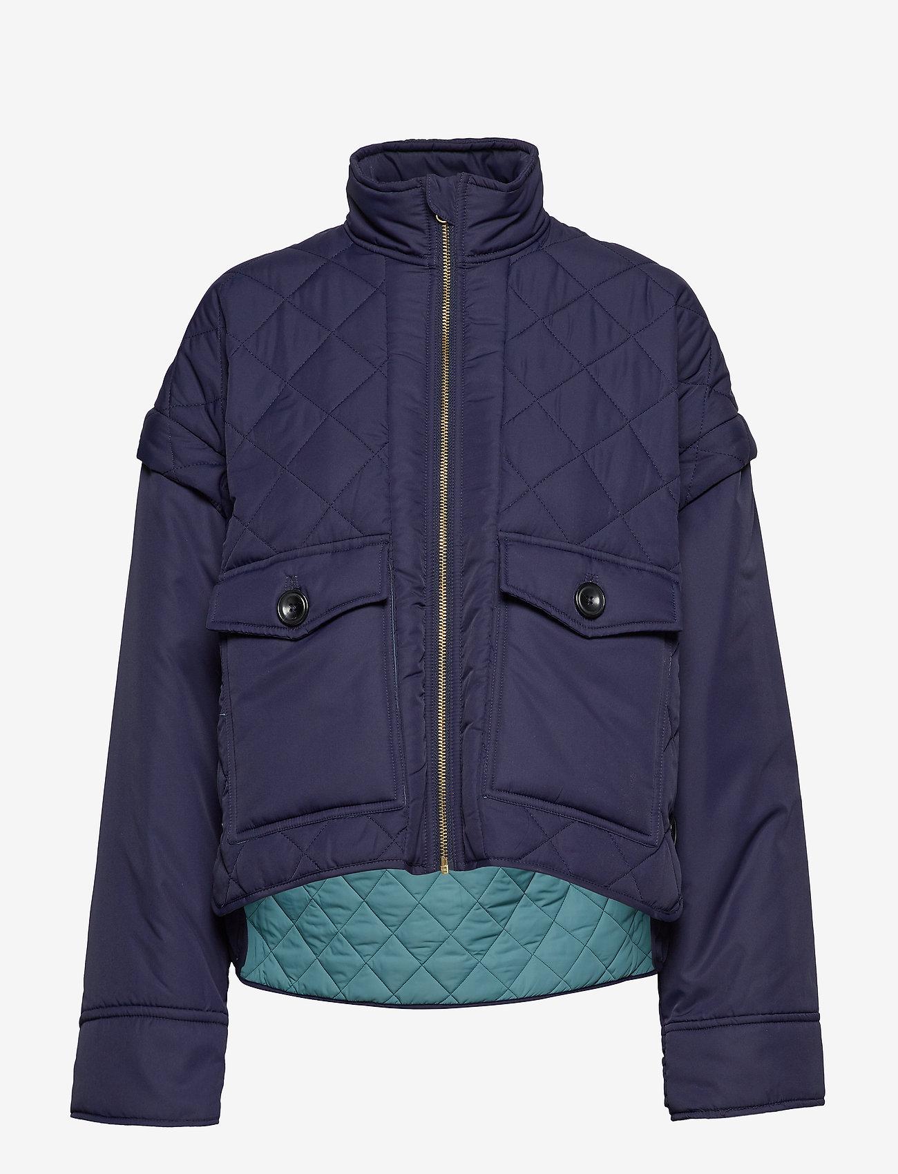 Noa Noa - Light outerwear - utility jackets - peacoat - 1