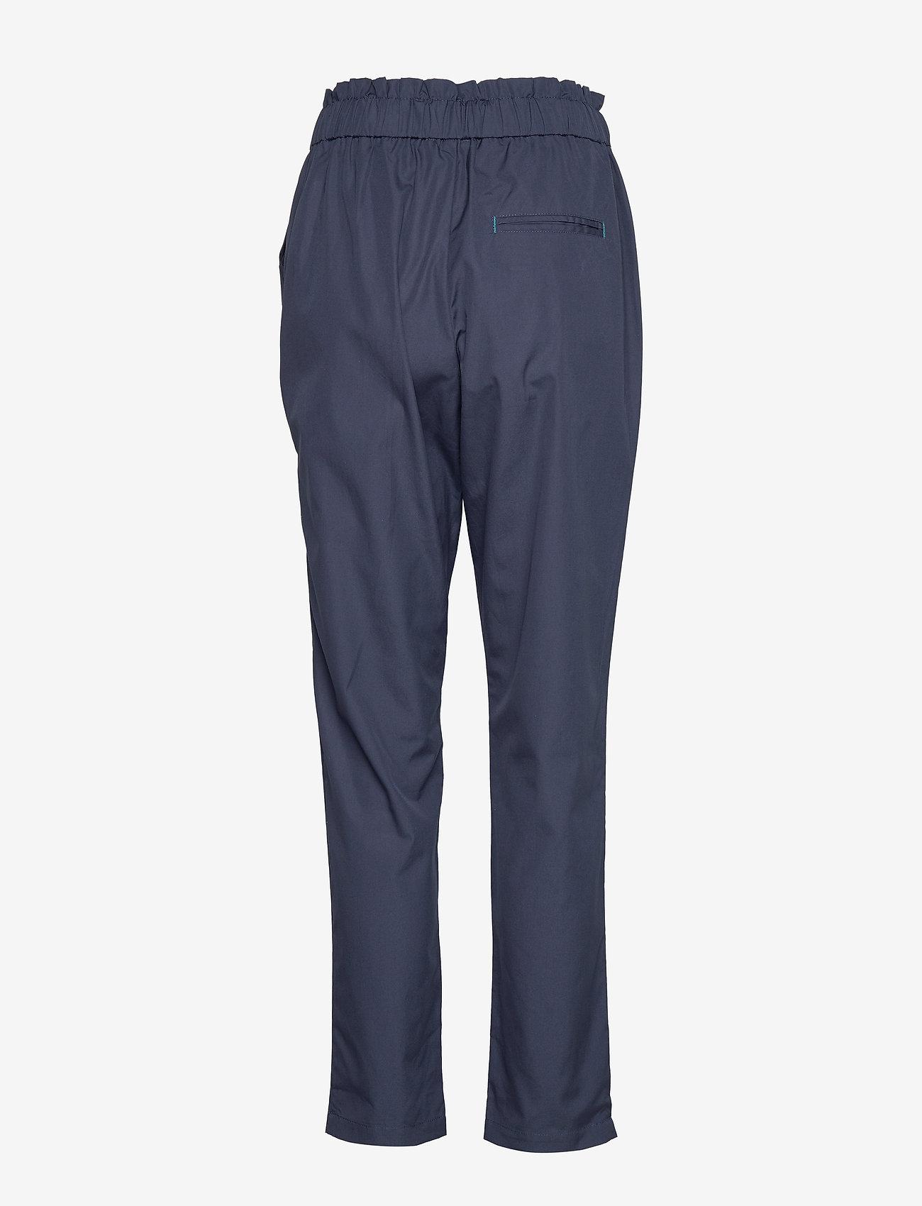 Noa Noa - Trousers - casual broeken - dress blues - 1