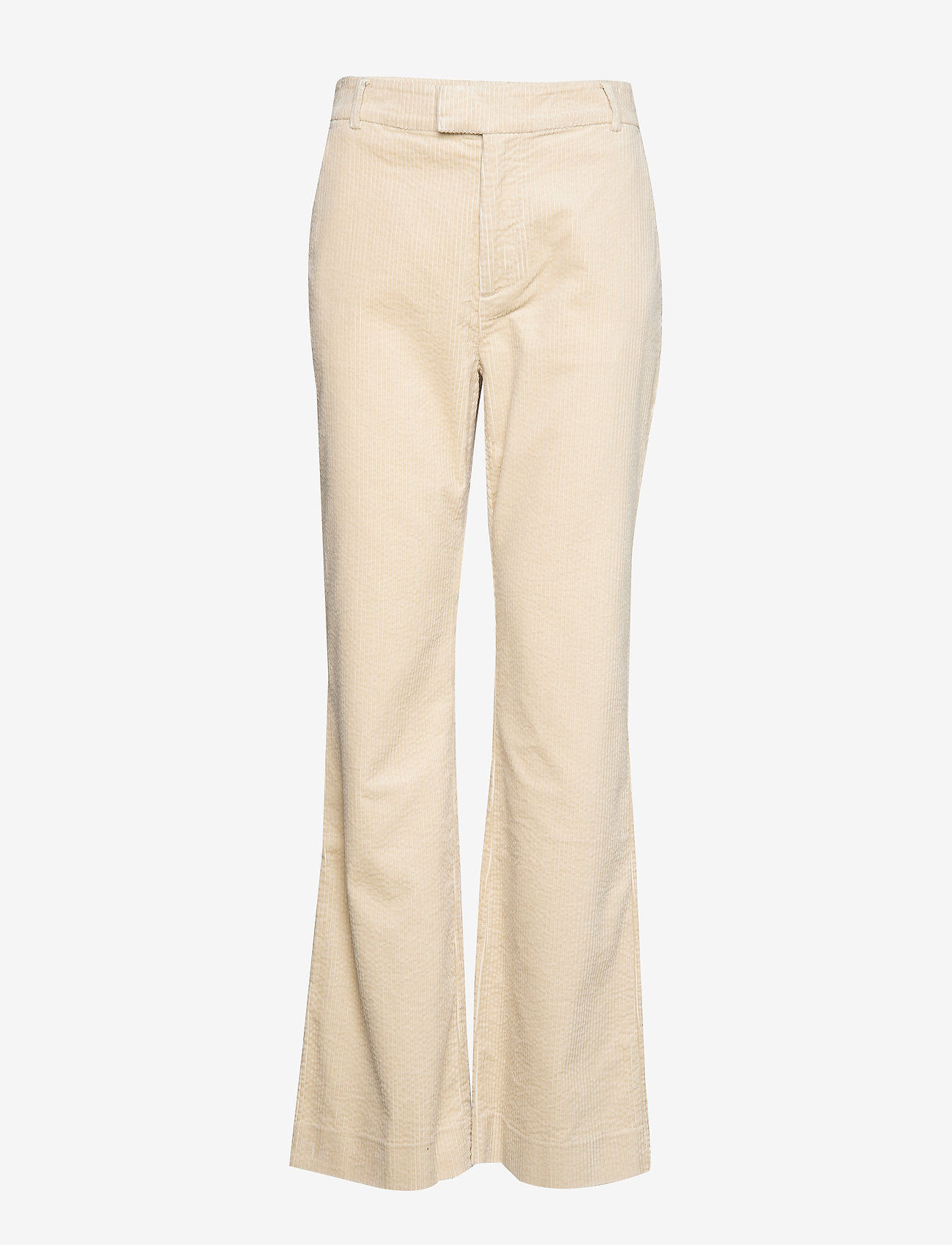 Noa Noa - Trousers - uitlopende broeken - oatmeal - 0