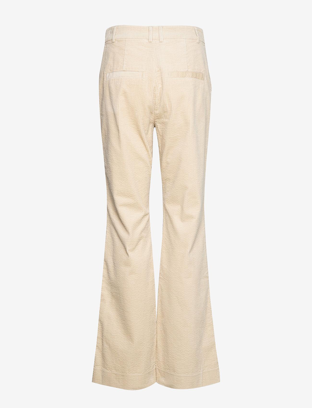 Noa Noa - Trousers - uitlopende broeken - oatmeal - 1