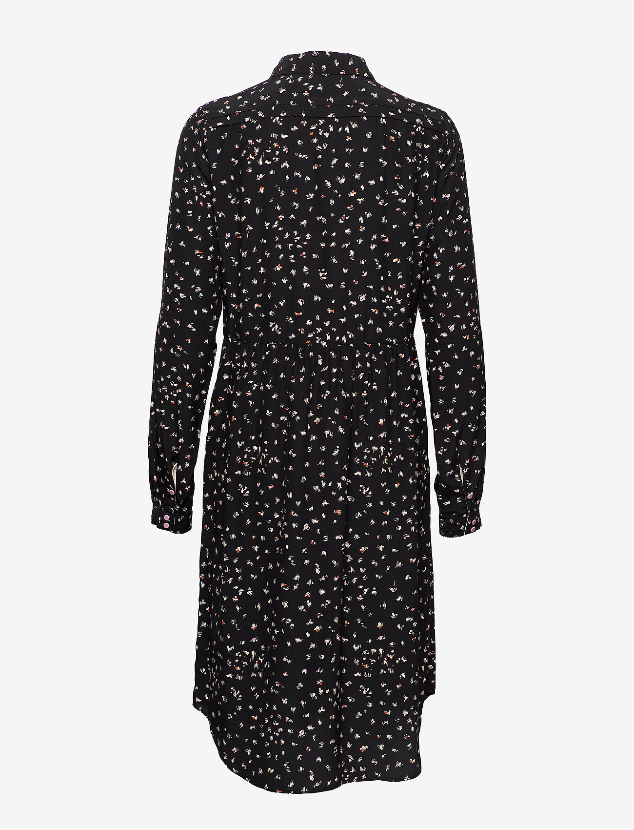 Noa Noa - Dress long sleeve - blousejurken - print black - 1
