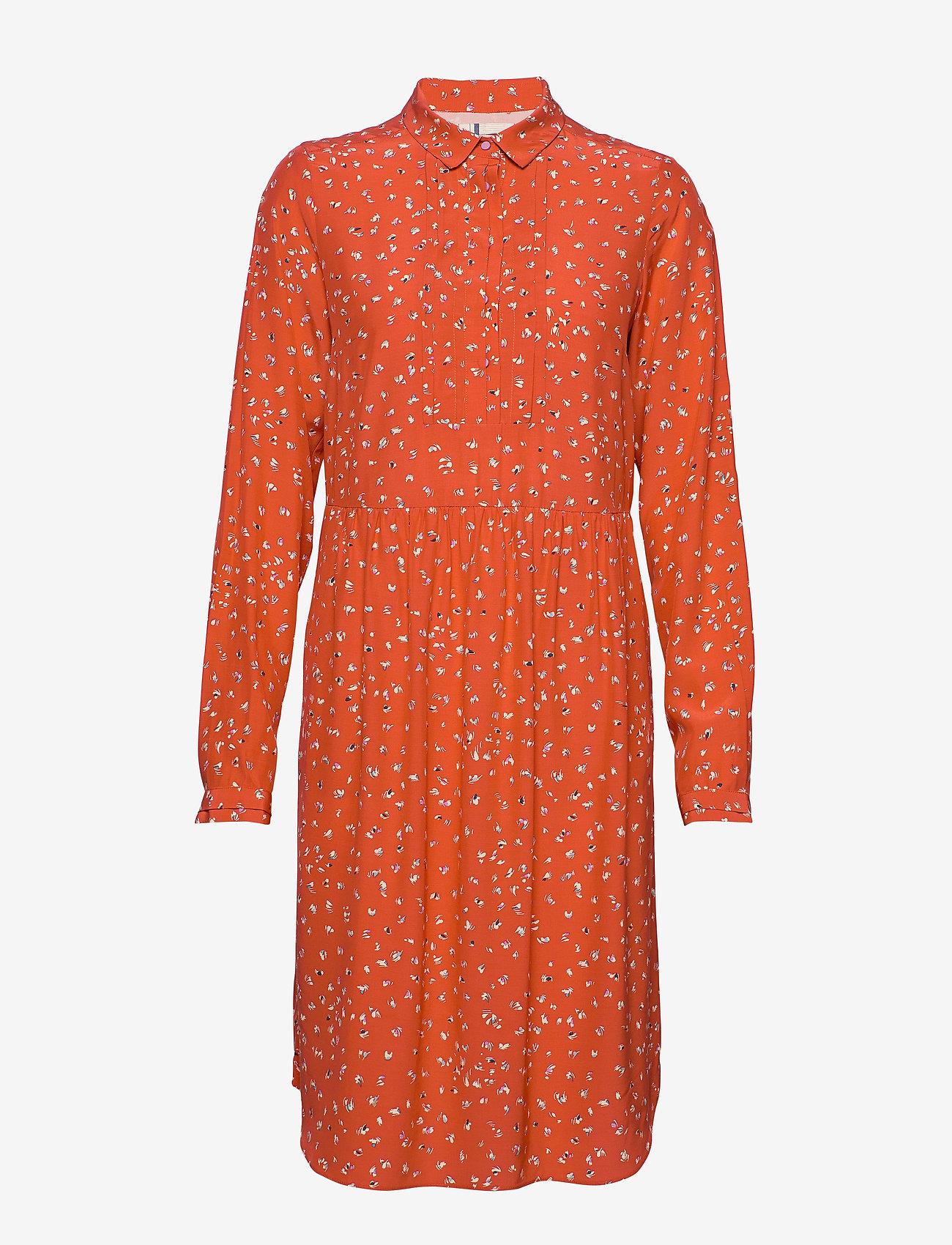 Noa Noa - Dress long sleeve - blousejurken - print red - 1