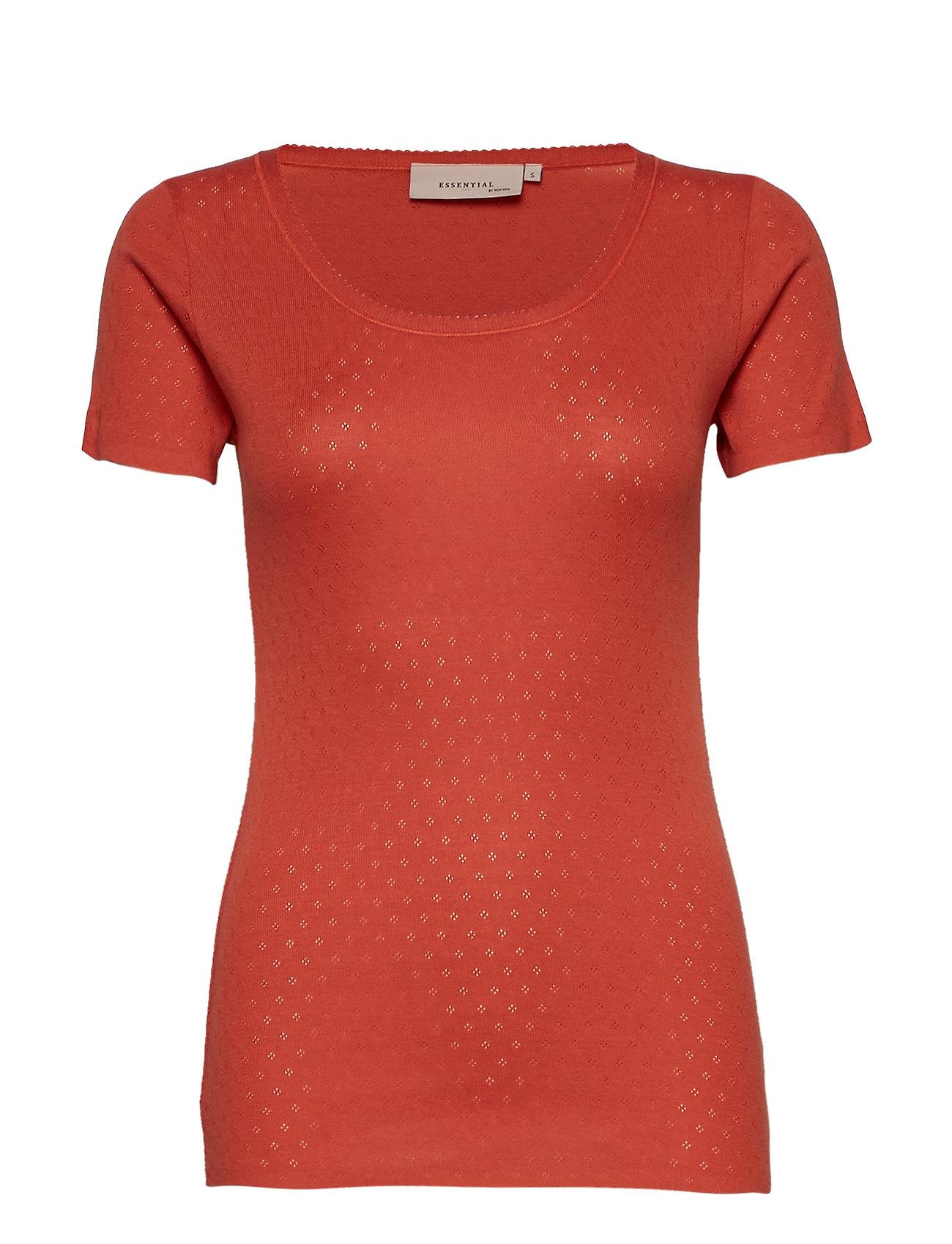 Noa Noa T-shirt - MECCA ORANGE
