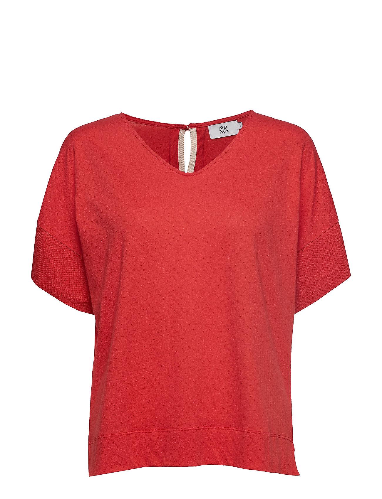 Noa Noa T-shirt - VALIANT POPPY