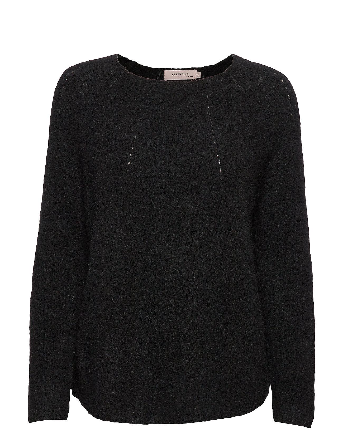 Noa Noa Pullover - BLACK