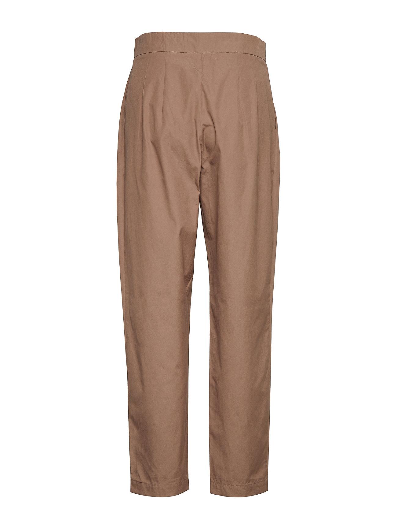 Trousers Bukser Med Lige Ben Beige Noa Noa