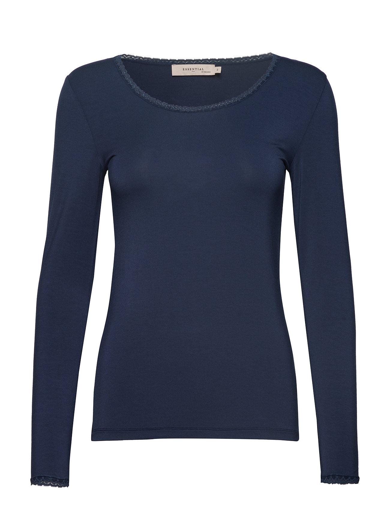 Noa Noa T-shirt - DRESS BLUES