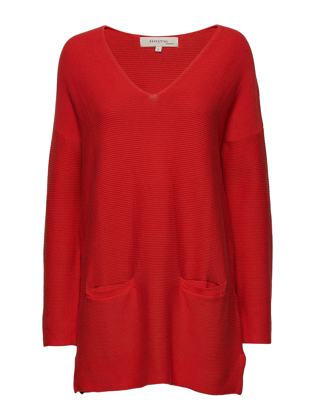 Noa Noa Pullover - RED CLAY