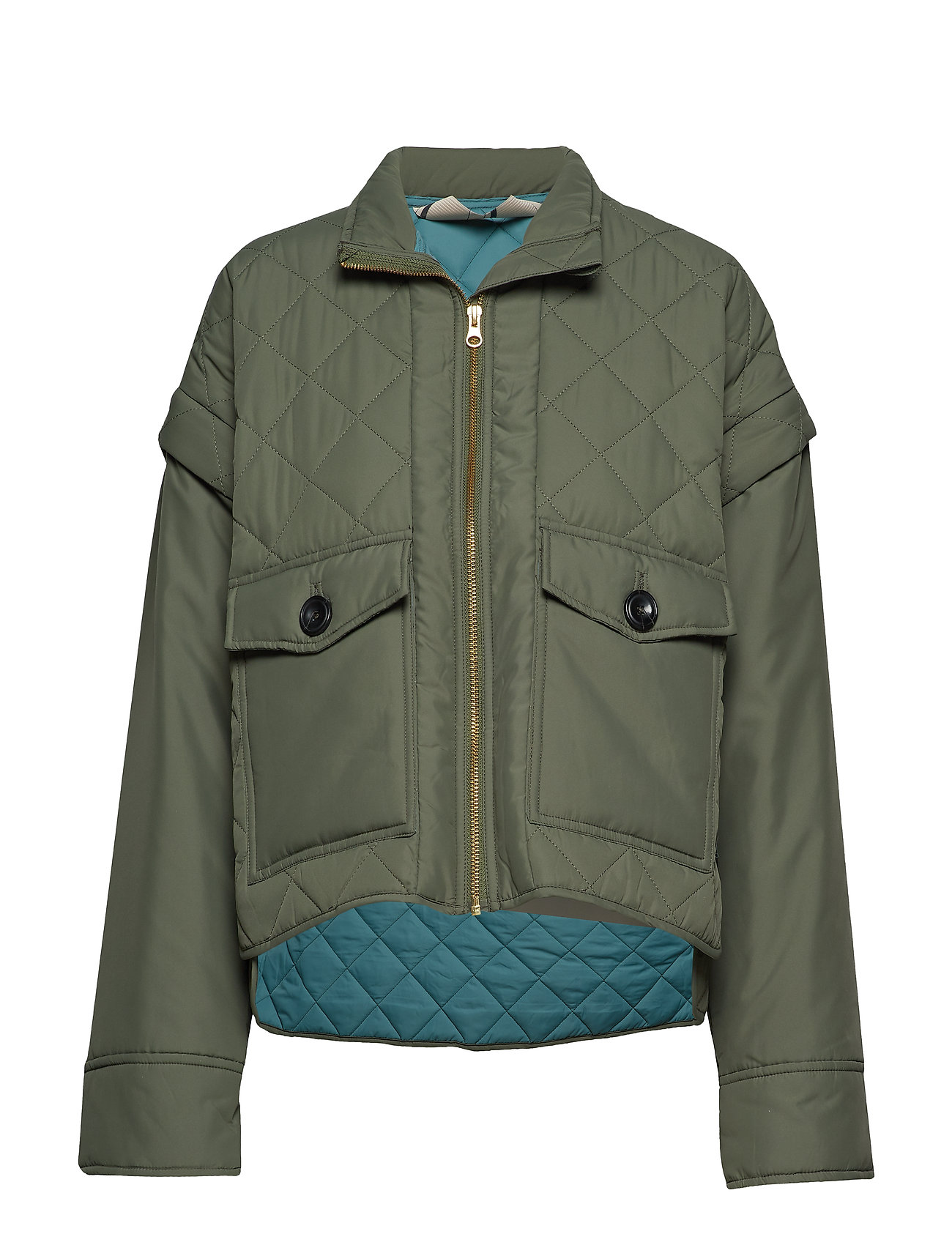 Noa Noa Light outerwear - ARMY GREEN