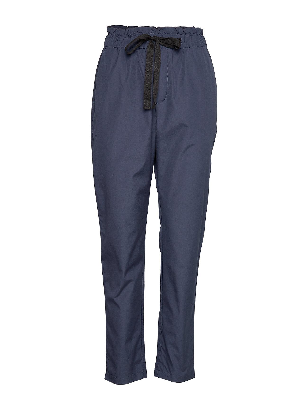 Noa Noa Trousers - DRESS BLUES
