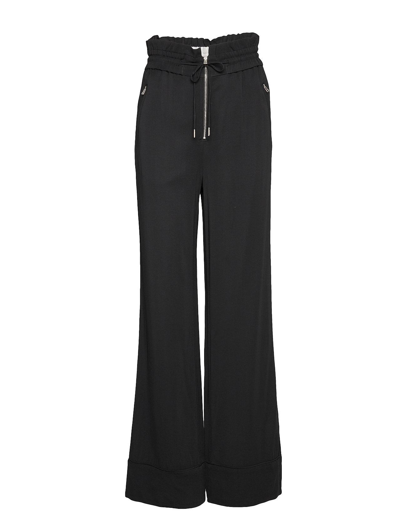 Noa Noa Trousers - BLACK