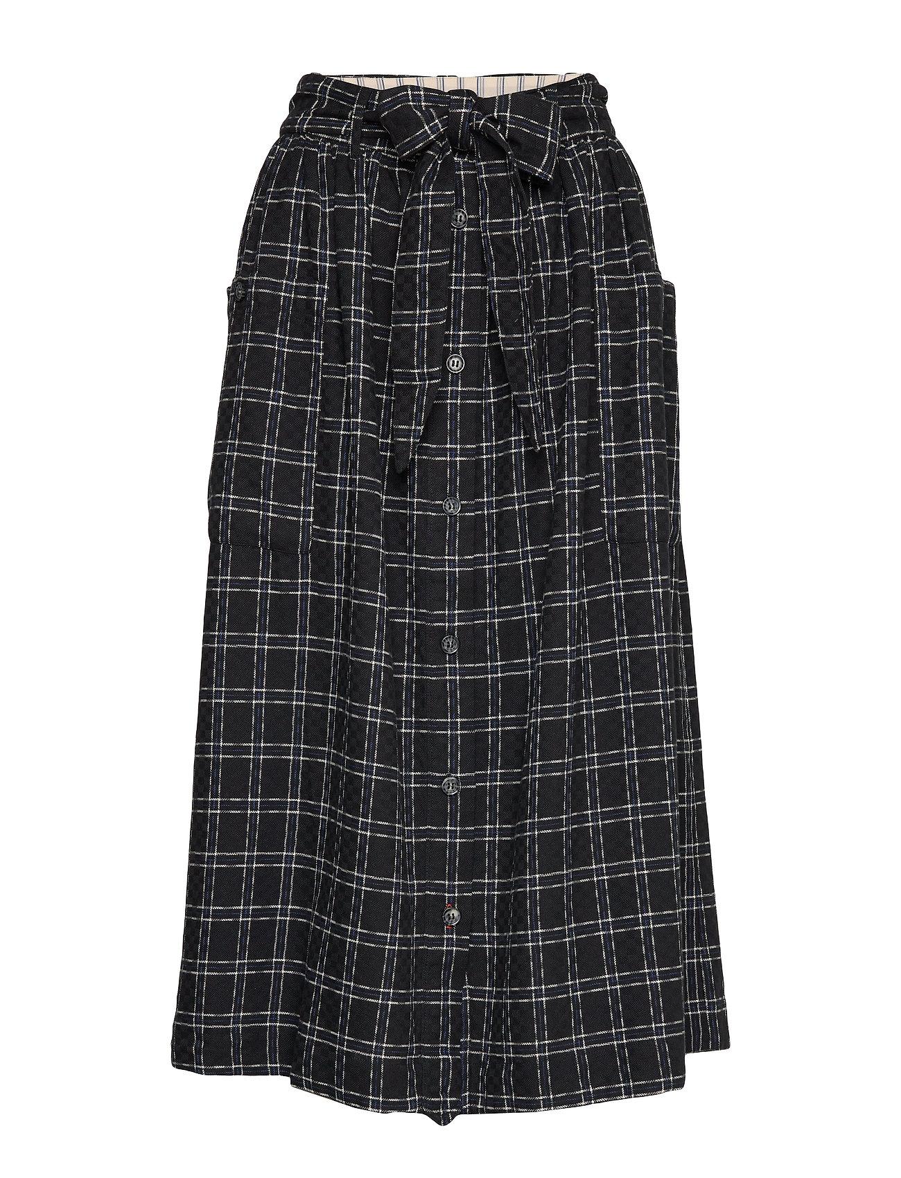 Noa Noa Skirt - ART BLACK