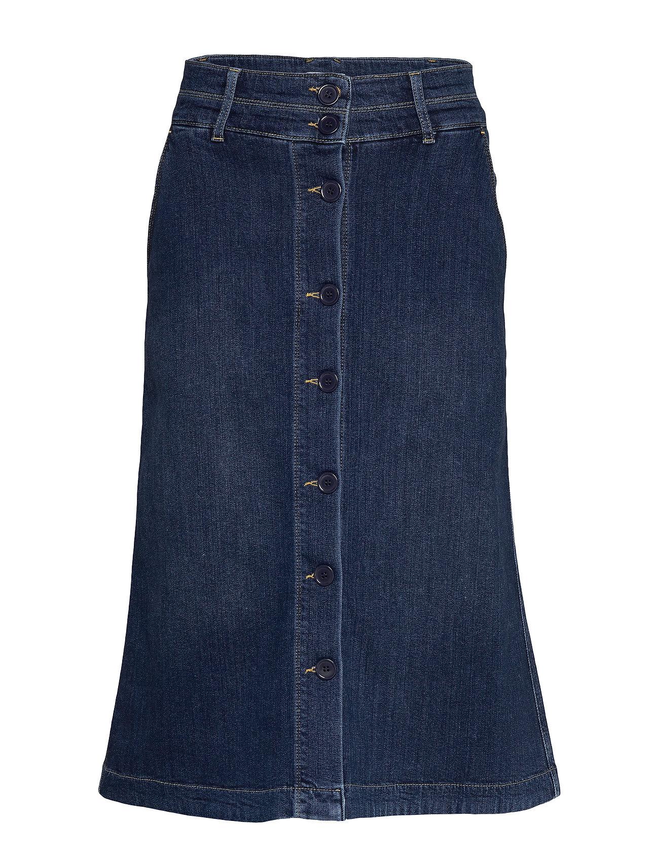 Noa Noa Skirt - DENIM DARK BLUE