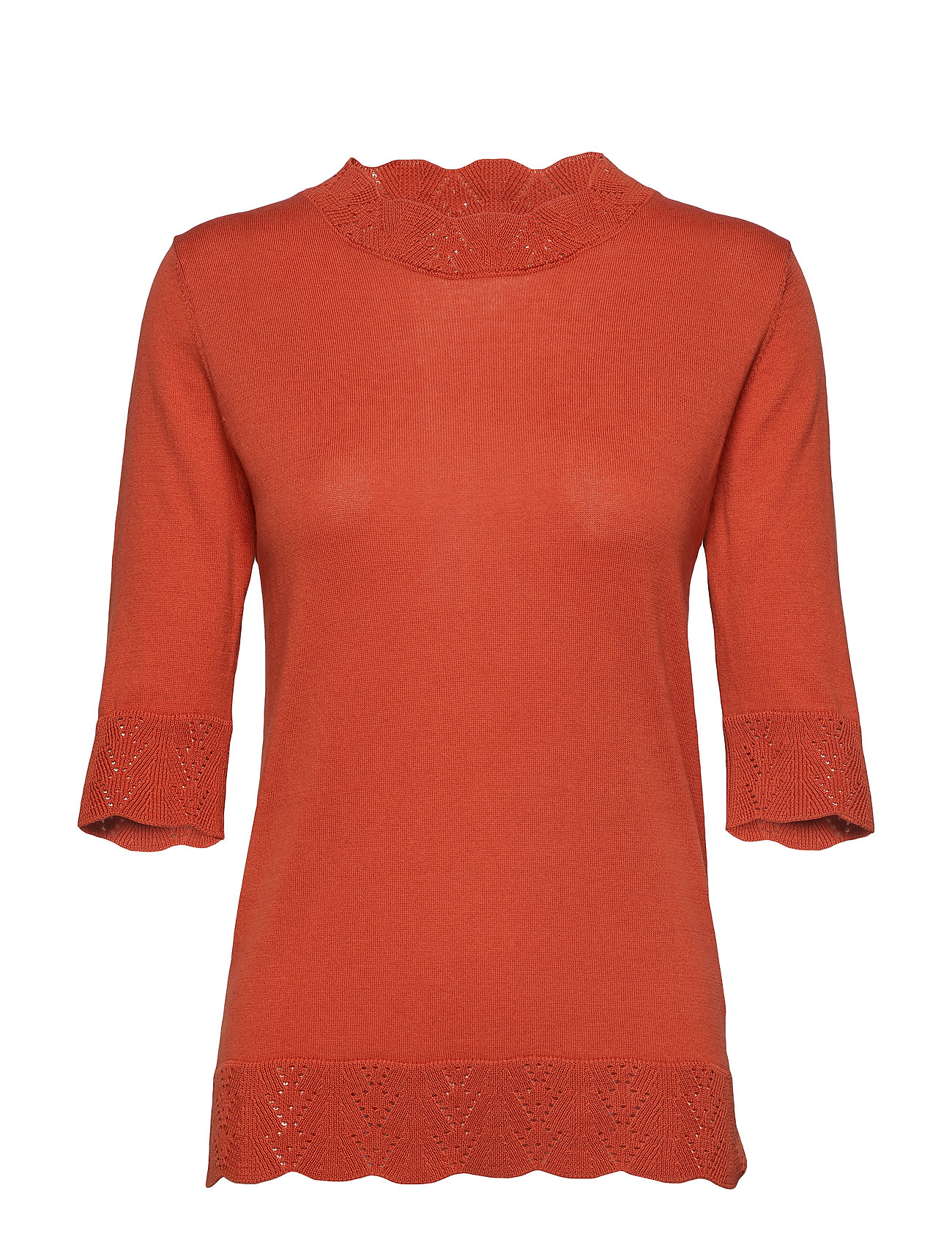 Noa Noa Pullover - MECCA ORANGE
