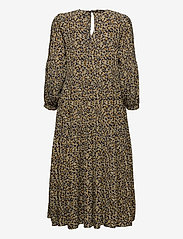 Noa Noa - Dress long sleeve - maxi jurken - print yellow - 1