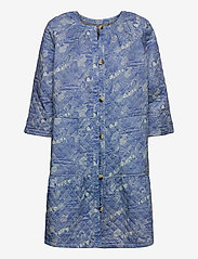 Noa Noa - Light outerwear - dunne jassen - print blue - 0