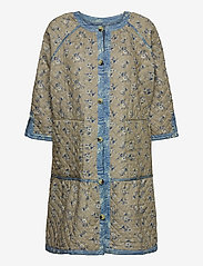 Noa Noa - Light outerwear - dunne jassen - print blue - 2