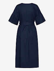Noa Noa - Dress short sleeve - midi jurken - dress blues - 1