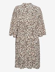 Noa Noa - Dress long sleeve - sommerkjoler - print off white - 1
