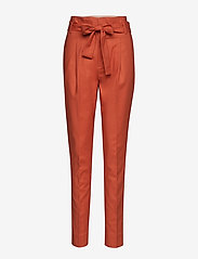 Noa Noa - Trousers - straight leg trousers - mecca orange - 0