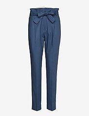 Noa Noa - Trousers - straight leg trousers - ensign blue - 0