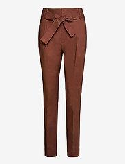 Noa Noa - Trousers - slim fit bukser - friar brown - 0