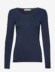 Noa Noa - T-shirt - tops met lange mouwen - dress blues - 0