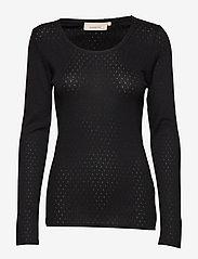 Noa Noa - T-shirt - tops met lange mouwen - black - 0