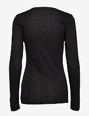 Noa Noa - T-shirt - tops met lange mouwen - black - 1