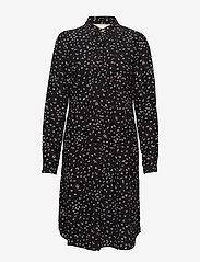 Noa Noa - Dress long sleeve - blousejurken - print black - 0