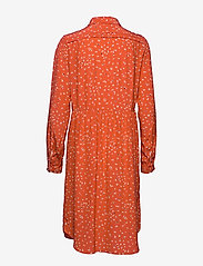 Noa Noa - Dress long sleeve - blousejurken - print red - 2