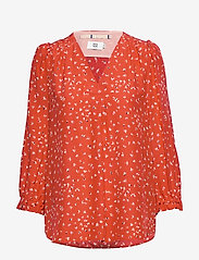 Noa Noa - Blouse - blouses med lange mouwen - print red - 0