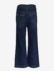 Noa Noa - Trousers - broeken met wijde pijpen - denim dark blue - 1