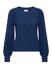 Pullover - NAVY PEONY