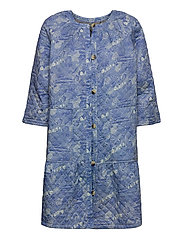 Light outerwear - PRINT BLUE