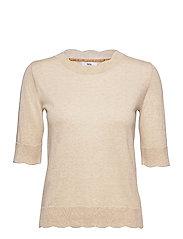 Pullover - LIGHT BROWN MELANGE