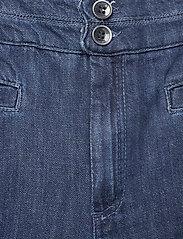 Noa Noa - Trousers - bukser med brede ben - denim dark blue - 2