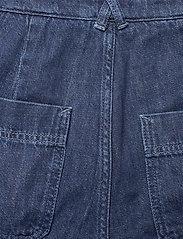 Noa Noa - Trousers - bukser med brede ben - denim dark blue - 3