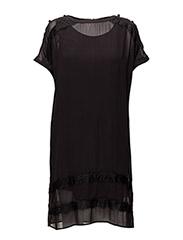 Dress short sleeve - BLACK