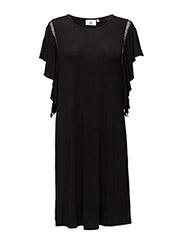 Dress sleeveless - BLACK