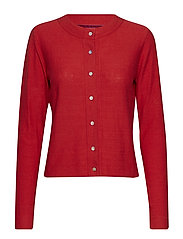 Cardigan - POMPEIAN RED