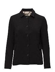 Light outerwear - BLACK