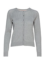 Cardigan - MEDIUM GREY MELANGE