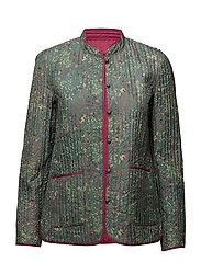 Jacket - PRINT GREEN