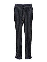 Trousers - PRINT BLUE