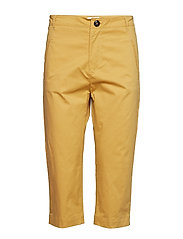 Trousers - CURRY