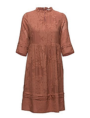 Dress long sleeve - CEDAR WOOD