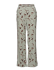 Trousers - PRINT GREEN